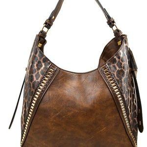 Cute Fashion Shoulder Bag with Leopard Print
